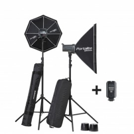 KIT 2 FLASH ELINCHROM D-LITE RX4